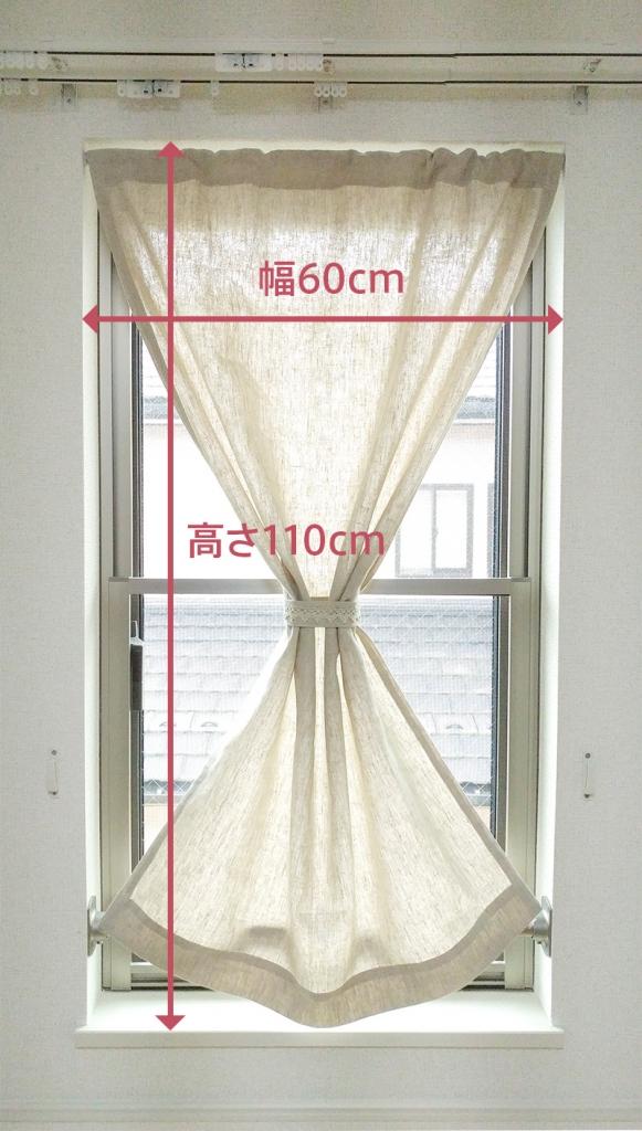 一般的な小窓サイズ
